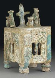 A Raa composite turquoise glaz