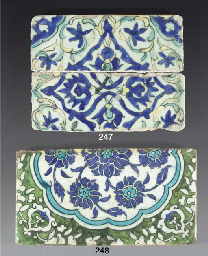 Two Damascus tile fragments, 1