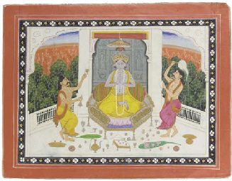 KRISHNA WITH TWO DEVOTEES, KAN