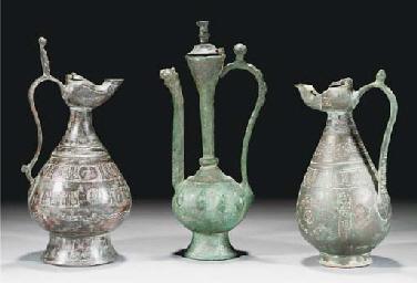 A group of four Seljuk ewers a