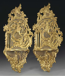 A pair of Turkish painted and