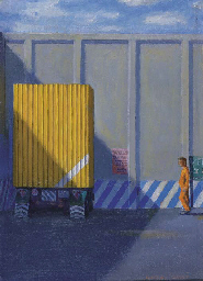 Study for the Yellow Truck, He
