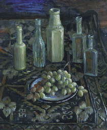 Bottles and Grapes
