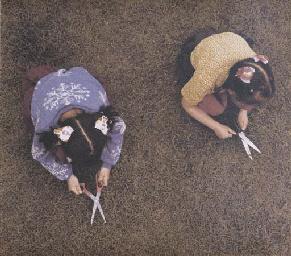 Scissor Cut, 1980 from 'Scarre