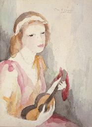 Jeune fille à la guitare