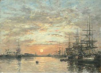Le Havre. Bassin de L'Eure