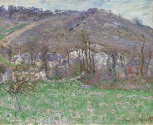 Le hameau de Falaise; paysage