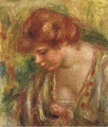Portrait d'Andrée penchée