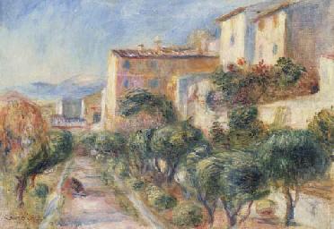 La maison de la poste à Cagnes