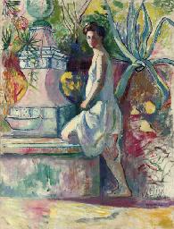 Jeanne à la fontaine, Villa De