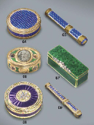 A LOUIS XVI JEWELLED AND ENAME
