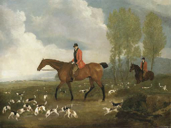 Richard Davis, huntsman to Kin
