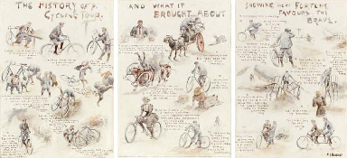 The History of a Cycling Tour,