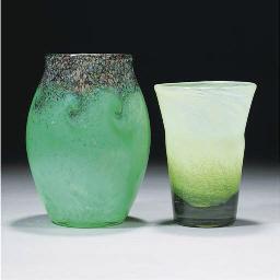 A Monart MF Vase