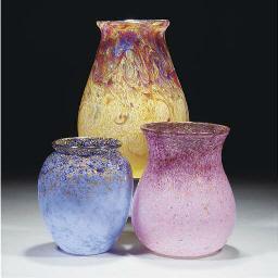A Monart IC Vase