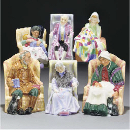 A Royal Doulton Patchwork Quil