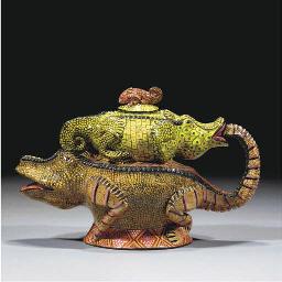 An Ardmore Crocodile Tureen an