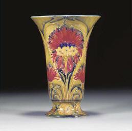 A Moorcroft Cornflower Vase