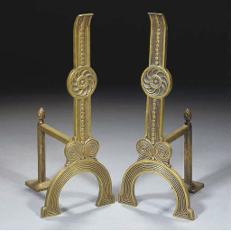 A Pair of Andirons