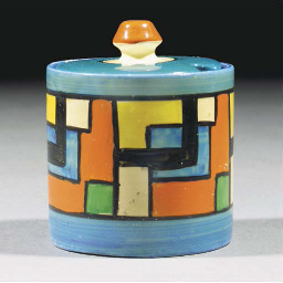 A Mondrian Preserve Pot and Co
