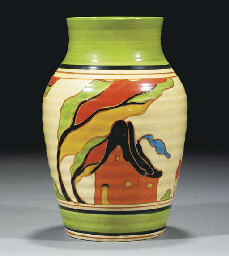 An Orange House Isis Vase