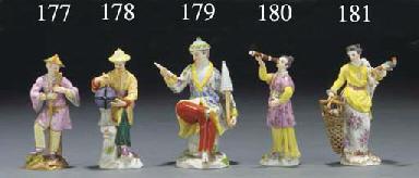 A Meissen Malabar figure