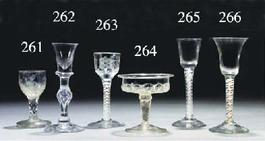 An opaque-twist wine-glass and