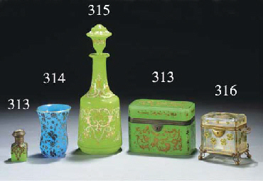 A Palais Royale enamelled and