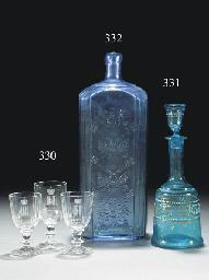 A large blue rectangular-secti