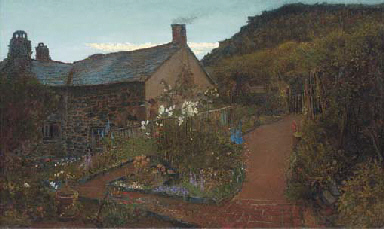 Cottage gardens - Twilight