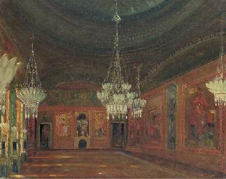 An interior of the Brighton Pa