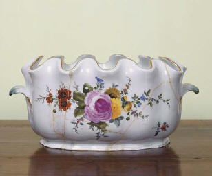 A MEISSEN PORCELAIN MONTEITH