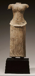 A Sandstone Torso of a Female