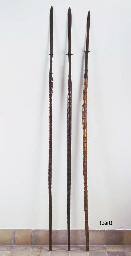A Collection of Thai Spears an