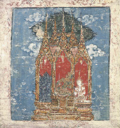 A Set of Two Thai Paintings