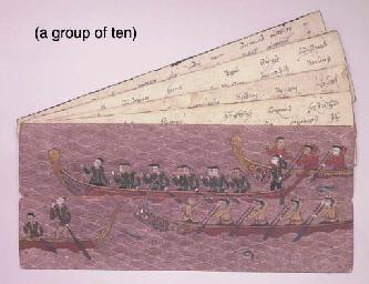 Ten Thai Manuscripts
