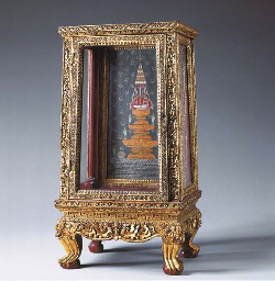 A Small Thai Prayer Cabinet