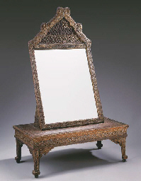 A Thai Mirror and Stand