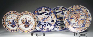 Two Imari dishes
