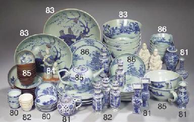 A set of six 'Nanking Cargo' b
