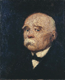 PORTRAIT OF GEORGE CLEMENCEAU,