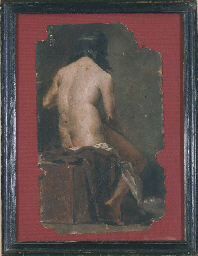 A SEATED MODEL