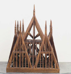 A FRENCH ARCHITECTURAL MODEL W