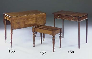 A George IV mahogany pembroke