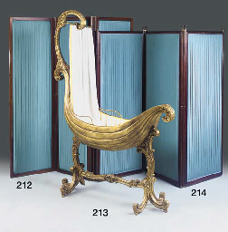 AN ITALIAN GILTWOOD GESSO AND
