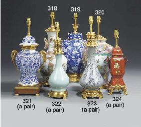 An Oriental glazed porcelain b