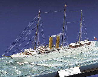 A 1:1200 SCALE WATERLINE MODEL