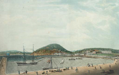 West view of Torquay; and East