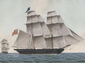 The brig Minerva of Jersey