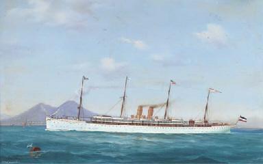 The German liner Kaiser Wilhel